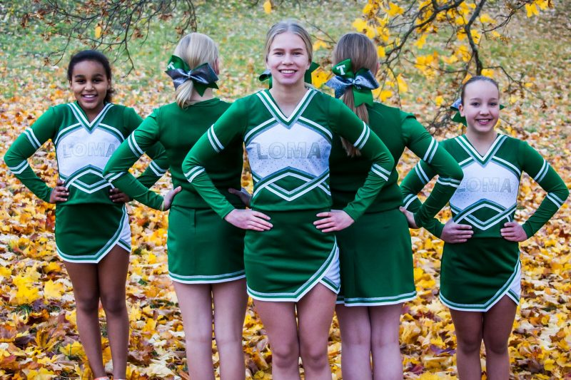LOMA Cheerleaders Uniforms