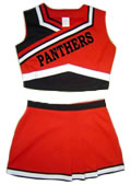 Sleeveless Cheer Uniforms