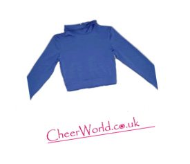cheerworld crop top