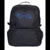 Nfinity Black Sparkle Blue Logo Backpack