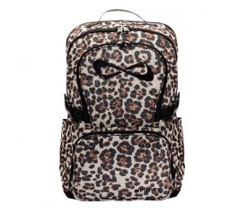 Nfinity Leopard Sparkle Backpack