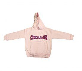 cheerleader hoodie pink