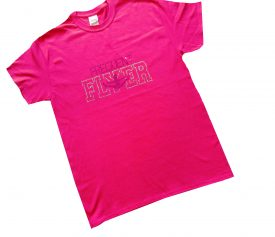 Frequent Flyer Pink T-Shirt