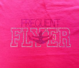 Frequent Flyer Pink Logo