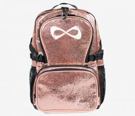 Nfinity Millennial Pink Sparkle Backpack