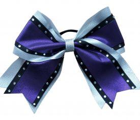 Image of Metallic Purple Cheer Bow