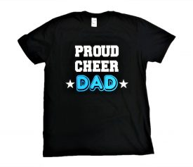 Image of Proud Cheer Dad T-Shirt