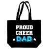 Image of Proud Cheer Dad Tote Bag