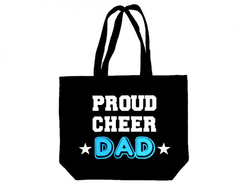 Image of Proud Cheer Dad Tote Bag