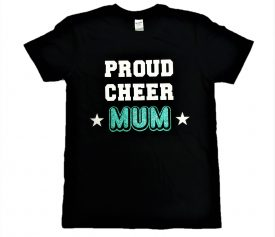 Image of Proud Cheer Mum T-Shirt