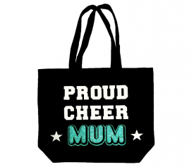 Image of Proud Cheer Mum Tote Bag