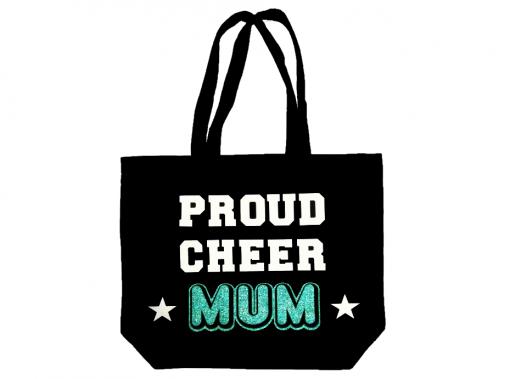 Image of Proud Cheer Mum Tote Bag